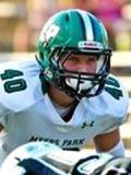 Ben Norris, Myers Park linebacker, ECU Recruiting 2016 (Photo source: Hudl.com)