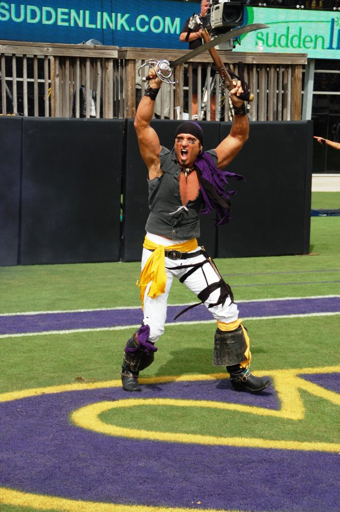 The well-armed Pirate emerges before the East Carolina ...