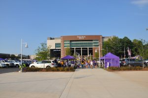 A crowd of 34,118 was on hand to witness East Carolina defeat Gardner-Webb in the first game played underneath the TowneBank Tower at Dowdy-Ficklen Stadium. (W.A. Myatt photo)